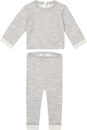 BONPOINT Baby Outfit Sets - Baby Set Thai aus Top und Hose aus Wolle