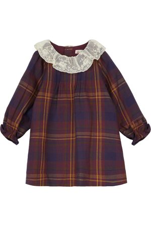BONPOINT Baby Kleid Magnolia aus Baumwolle
