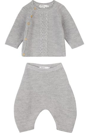 BONPOINT Baby Outfit Sets - Baby Set Tienzo aus Pullover und Hose