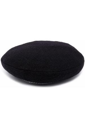 Simonetta Knit-stripe flat cap