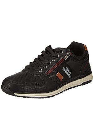 TOM TAILOR Herren 2182702 Sneaker, Black