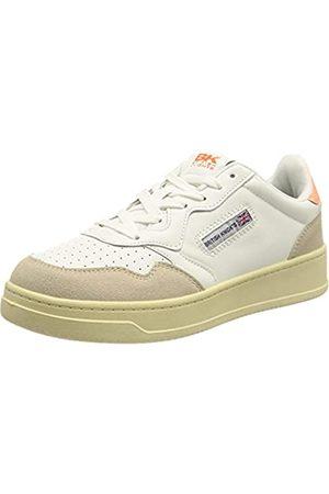 British Knights Damen NOORS Sneaker, White/NEON