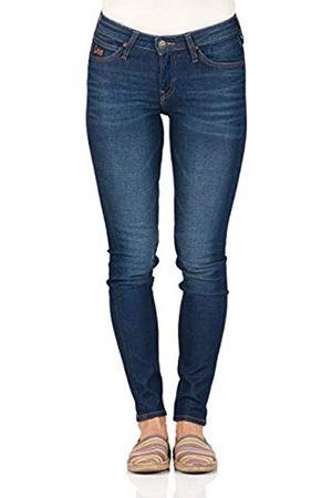 Lee Damen Jeans Scarlett - Skinny Fit - - Vintage Worn, Größe:W 30 L 31