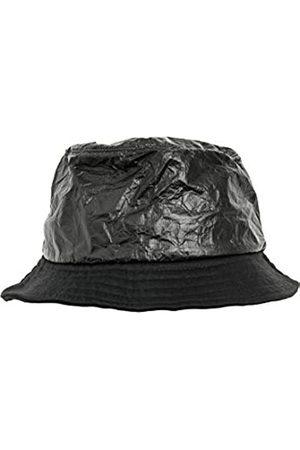Flexfit Crinkled Paper Bucket Fischerhut black One Size