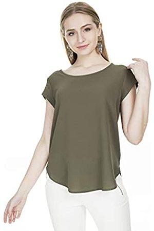 ONLY Damen T-Shirt Onlvic S/S Solid Top Noos Wvn