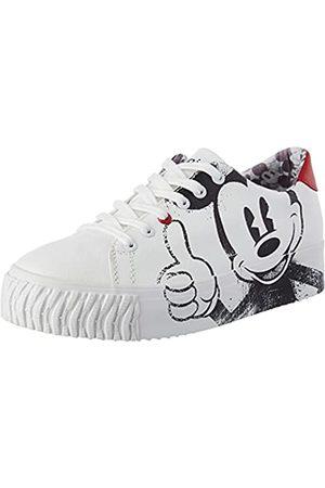 Desigual Damen Shoes_Street_Mickey Sneaker, White