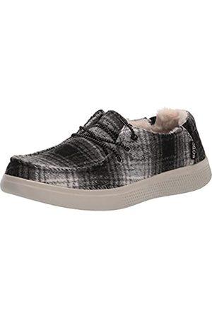 Skechers Damen Bobs Skipper-Plaidpretender Sneaker, /