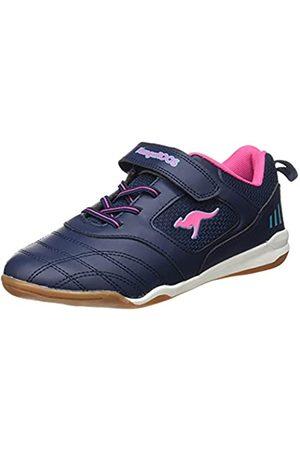 KangaROOS Cayard EV Damen Sneaker, (dark navy/daisy pink)