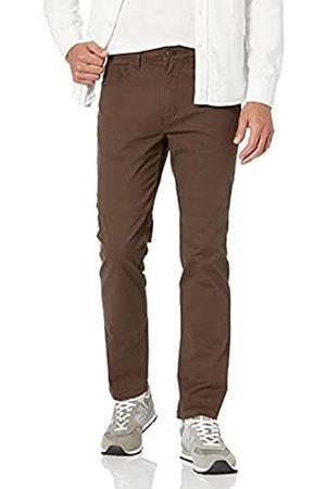 Goodthreads Amazon-Marke: Slim-Fit 5-Pocket Chino Pant Hose, Brown