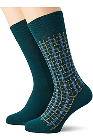 Esprit Herren Multic Check 2-Pack M SO Socken
