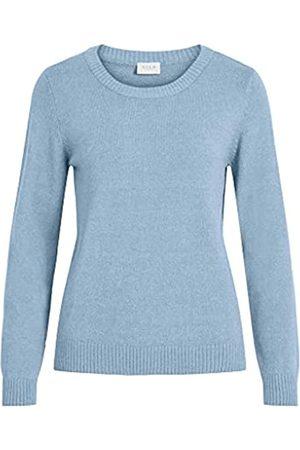 VILA Clothes Damen VIRIL L/S O-Neck Knit TOP-NOOS Pullover