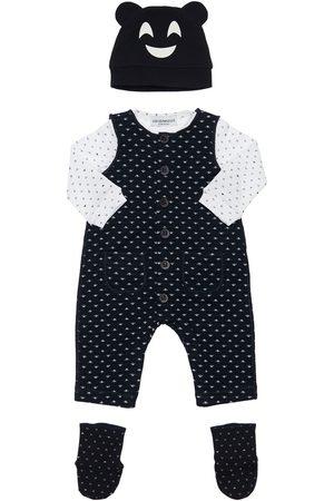 Emporio Armani Body, Overalls, Socken Und Mütze Aus Baumwolle