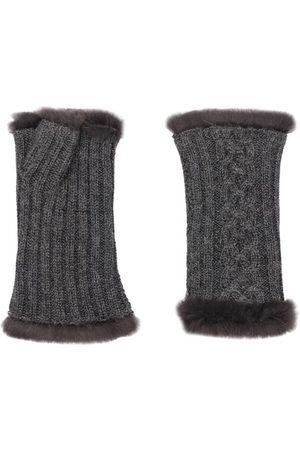AGNELLE Damen Handschuhe - Victoire mit Futter aus Kaninchenfell