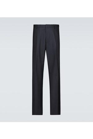 DRIES VAN NOTEN Stoffhosen - Hose mit weitem Bein aus Wolle