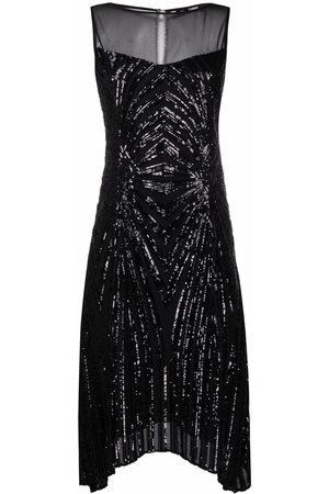 Karl Lagerfeld Ausgestelltes Kleid mit Pailletten