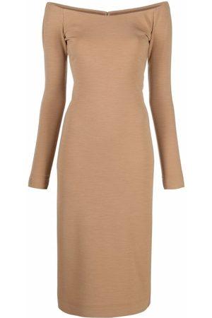 Fendi Damen Freizeitkleider - Schulterfreies Kleid
