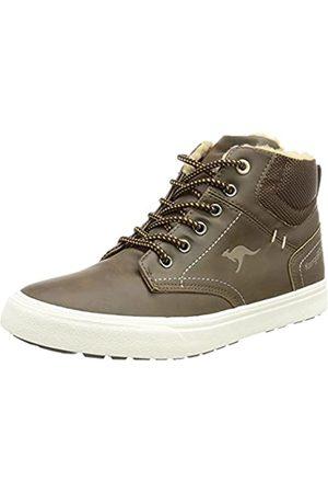 KangaROOS Damen KAVU X Sneaker, dk Brown/Sand