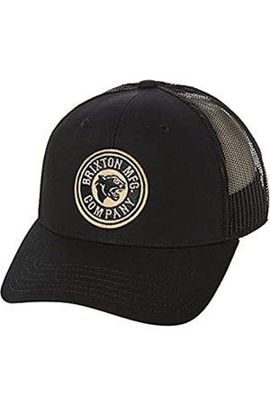 Brixton Unisex-Adult FORTE X MP MESH Baseball Cap, Black