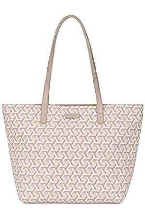 Hexagona Signature, Umhängetasche für Damen aus beschichtetem Canvas Umhängetasche Damenhandtasche Umhängetasche Kleine Tasche Umhängetasche, L : 44 x h : 28
