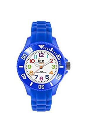 ICE-WATCH ICE mini Blue - Blaue Jungenuhr mit Silikonarmband - 000745 (Extra small)