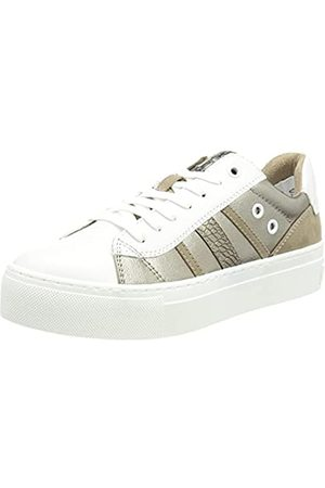 Marco Tozzi Damen 2-2-23704-27 Sneaker, White/Taupe C