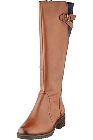 Caprice Damen 9-9-25601-27 Kniehohe Stiefel, Cognac/Ocean