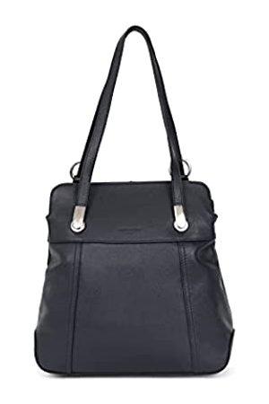 Hexagona Damen Cuir de Vachette Grainé Paris – verwandelbare Kollektion Confort – – aus genarbtem Rindsleder – Transform kleine Tasche Handtasche – Umhängetasche