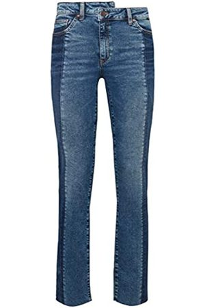 Mavi Damen DARIA BLOCKING Straight Jeans, (Indigo STR 30133.0)