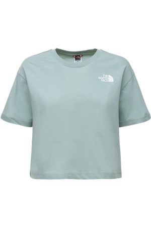 The North Face Bauchfreies T-shirt Aus Baumwolle