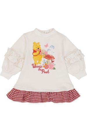 MONNALISA X Disney® Baby Kleid aus Baumwolle