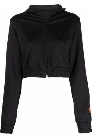 Heron Preston Damen Sweatshirts - TRACKTOP LOGO BLACK BLACK