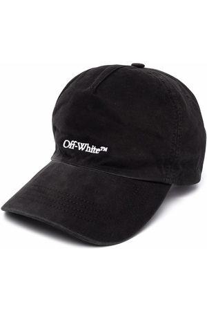 OFF-WHITE Herren Caps - BOOKISH OW BASEBALL CAP BLACK WHITE