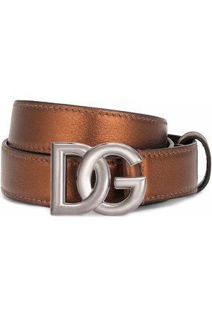 Dolce & Gabbana Herren Gürtel - Gürtel mit DG-Schnalle