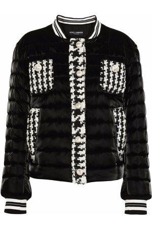 Dolce & Gabbana Damen Winterjacken - Gefütterte Bomberjacke