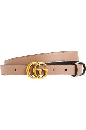 "Gucci 3.7cm Breiter Ledergürtel ""gg Marmont"""