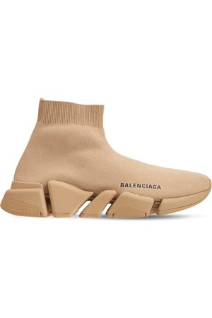 Balenciaga 30mm Speed Recycled Knit Sneakers
