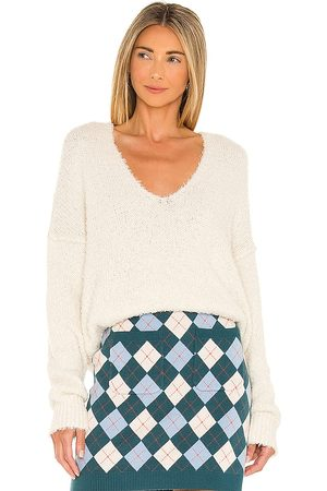 Free People Theo V Neck Sweater in . Size M, S.