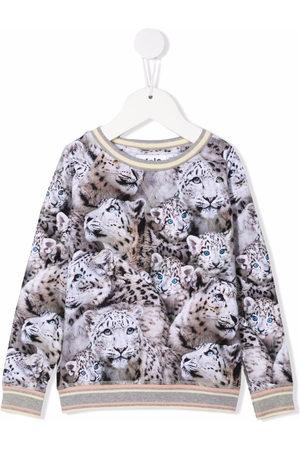 Molo Sweatshirts - Pullover mit Löwen-Print