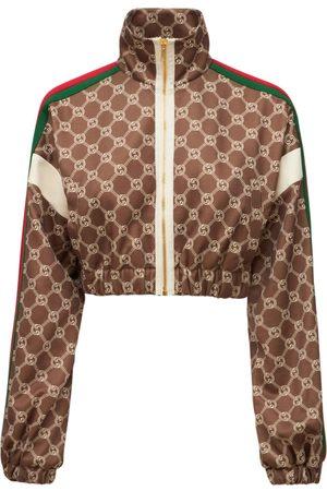 Gucci Damen Jacken - Jacke Aus Technojersey