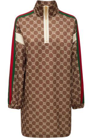 Gucci Damen Freizeitkleider - Minikleid Aus Technojersey