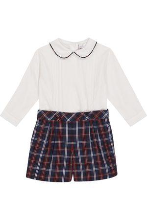 Rachel Riley Baby Set aus Hemd und Shorts