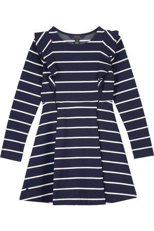 Ralph Lauren Gestreiftes Kleid aus Jersey