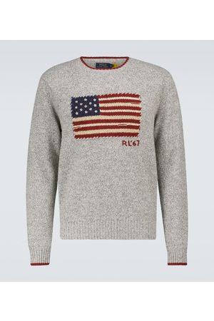 Polo Ralph Lauren Pullover Flag aus einem Wollgemisch