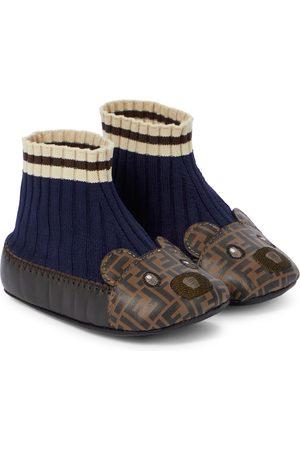 Fendi Sock Slippers FF