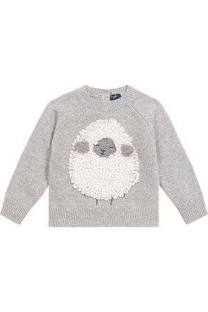 Il gufo Baby Pullover aus Wolle