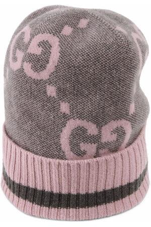 Gucci Herren Hüte - Intarsien-Mütze mit Logo