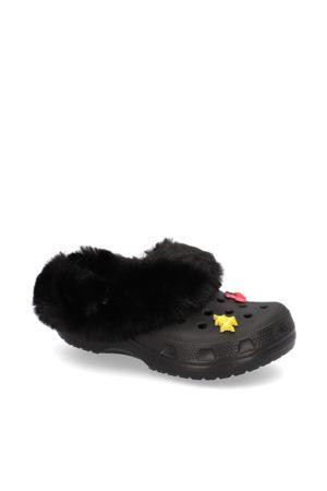 Crocs Damen Clogs & Pantoletten - CLASSIC MAMMOTH CHARME CLOG