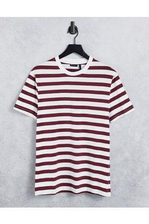 ASOS – Gestreiftes T-Shirt in und Weiß