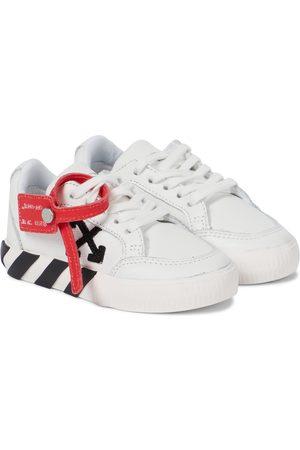 OFF-WHITE Jungen Sneakers - Sneakers Low Vulcanized aus Leder