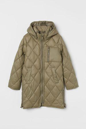 H&M Puffer Jacket mit Kapuze